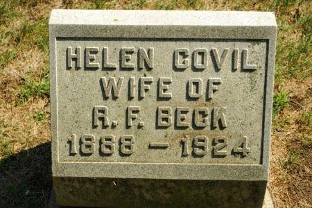 BECK, HELEN COVIL - Hamilton County, Iowa | HELEN COVIL BECK