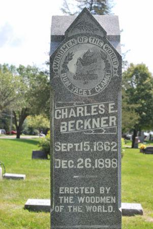 BECKNER, CHARLES E - Hamilton County, Iowa | CHARLES E BECKNER