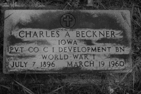 BECKNER, CHARLES A. - Hamilton County, Iowa | CHARLES A. BECKNER
