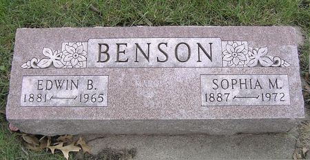BENSON, EDWIN B. - Hamilton County, Iowa | EDWIN B. BENSON