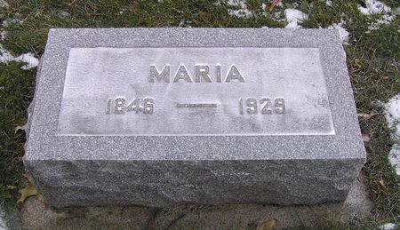 BENSON, MARIA - Hamilton County, Iowa | MARIA BENSON