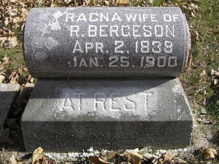 BERGESON, RAGNA - Hamilton County, Iowa | RAGNA BERGESON