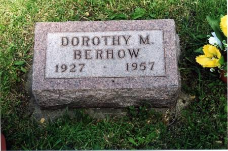 BERHOW, DOROTHY M. - Hamilton County, Iowa   DOROTHY M. BERHOW