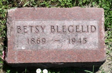 BLEGELID, BETSY - Hamilton County, Iowa | BETSY BLEGELID