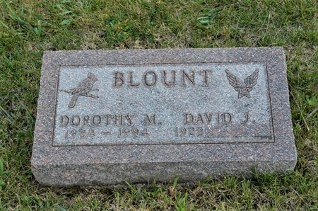 BLOUNT, DOROTHY M. - Hamilton County, Iowa | DOROTHY M. BLOUNT
