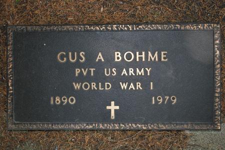 BOHME, GUS A. - Hamilton County, Iowa | GUS A. BOHME