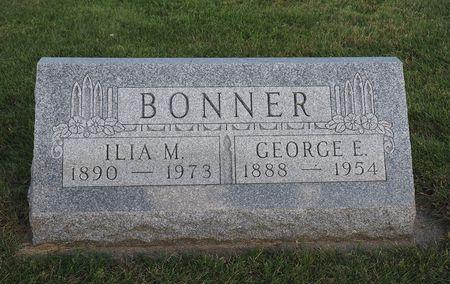 BONNER, GEORGE E. - Hamilton County, Iowa   GEORGE E. BONNER
