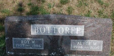 BOTTORFF, ROY W. - Hamilton County, Iowa   ROY W. BOTTORFF