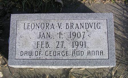 BRANDVIG, LEONORA V. - Hamilton County, Iowa   LEONORA V. BRANDVIG