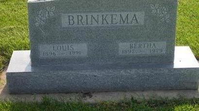 BRINKEMA, BERTHA - Hamilton County, Iowa | BERTHA BRINKEMA