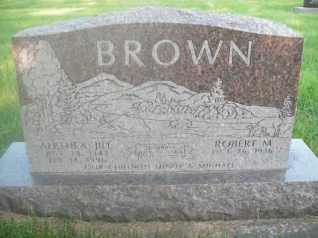 HOOVER BROWN, ALETHEA JILL - Hamilton County, Iowa   ALETHEA JILL HOOVER BROWN