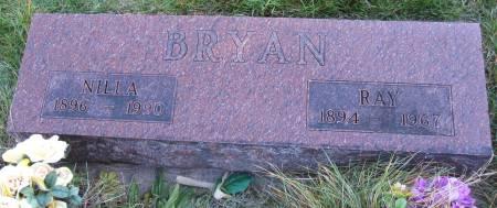 BRYAN, NILLA - Hamilton County, Iowa | NILLA BRYAN
