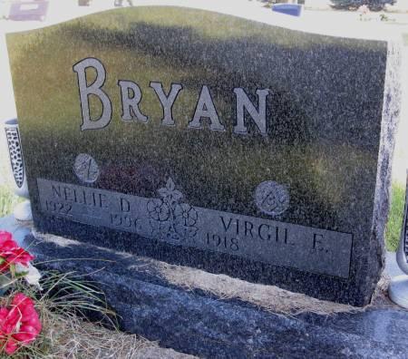 BRYAN, NELLIE D. - Hamilton County, Iowa | NELLIE D. BRYAN