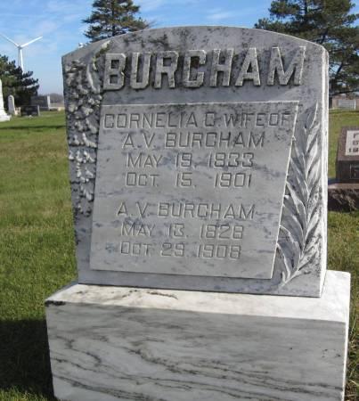 BURCHAM, CORNELIA G. - Hamilton County, Iowa | CORNELIA G. BURCHAM