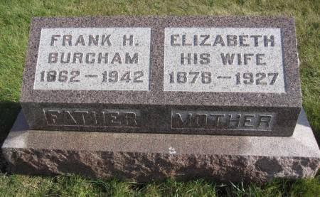 BURCHAM, ELIZABETH - Hamilton County, Iowa   ELIZABETH BURCHAM