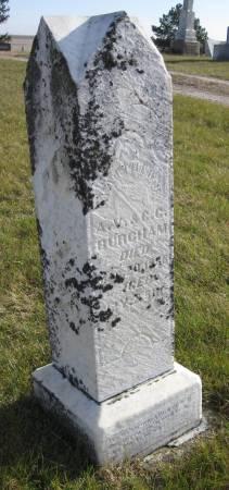 BURCHAM, MATTHEW J. - Hamilton County, Iowa   MATTHEW J. BURCHAM