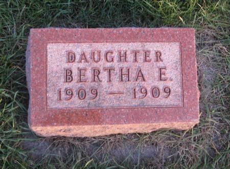BURKET, BERTHA E. - Hamilton County, Iowa | BERTHA E. BURKET