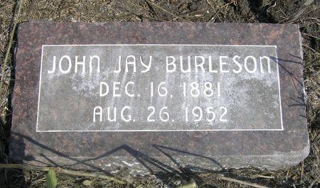 BURLESON, JOHN JAY - Hamilton County, Iowa   JOHN JAY BURLESON