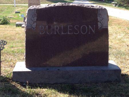 BURLESON, FAMILY STONE - Hamilton County, Iowa | FAMILY STONE BURLESON