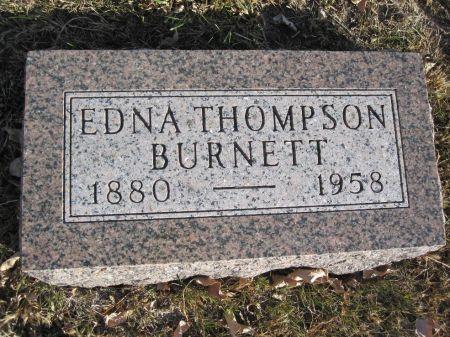 BURNETT, EDNA - Hamilton County, Iowa | EDNA BURNETT