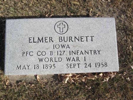 BURNETT, ELMER - Hamilton County, Iowa | ELMER BURNETT
