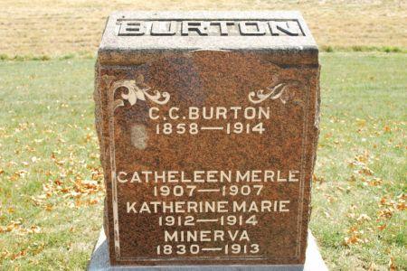 BURTON, KATHERINE MARIE - Hamilton County, Iowa | KATHERINE MARIE BURTON