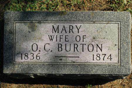 BURTON, MARY C. - Hamilton County, Iowa | MARY C. BURTON