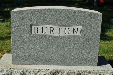 BURTON, FAMILY STONE - Hamilton County, Iowa | FAMILY STONE BURTON