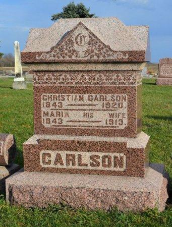 JOHANSDOTTER CARLSON, MARIA - Hamilton County, Iowa   MARIA JOHANSDOTTER CARLSON