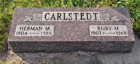 SHOBERG CARLSTEDT, RUBY M. - Hamilton County, Iowa | RUBY M. SHOBERG CARLSTEDT