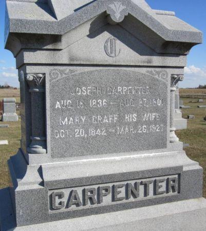 GRAFF CARPENTER, MARY - Hamilton County, Iowa   MARY GRAFF CARPENTER