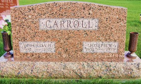 CARROLL, VENEATIA H. - Hamilton County, Iowa | VENEATIA H. CARROLL