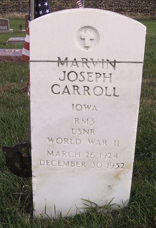 CARROLL, MARVIN JOSEPH - Hamilton County, Iowa | MARVIN JOSEPH CARROLL