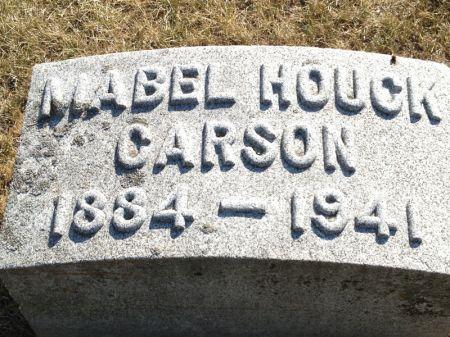 HOUCK CARSON, MABEL - Hamilton County, Iowa | MABEL HOUCK CARSON
