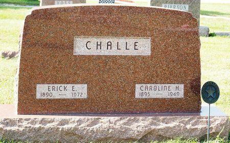 CHALLE, CAROLINE H. - Hamilton County, Iowa   CAROLINE H. CHALLE