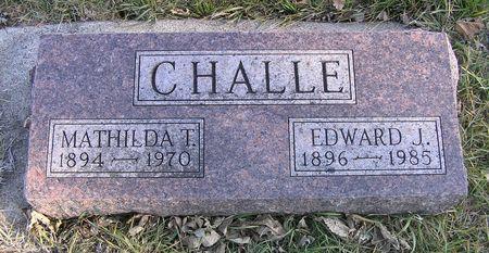 CHALLE, EDWARD J. - Hamilton County, Iowa | EDWARD J. CHALLE