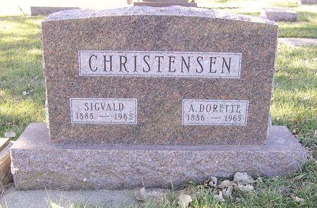 CHRISTENSEN, SIGVALD - Hamilton County, Iowa | SIGVALD CHRISTENSEN