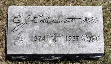 CHRISTENSEN, CHRISTIAN J. - Hamilton County, Iowa   CHRISTIAN J. CHRISTENSEN