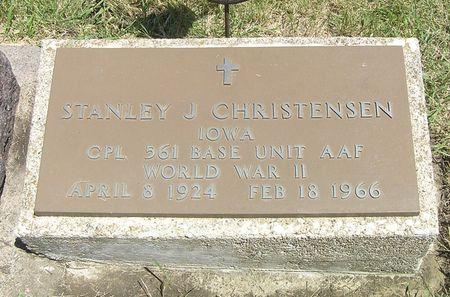 CHRISTENSEN, STANLEY J. - Hamilton County, Iowa | STANLEY J. CHRISTENSEN