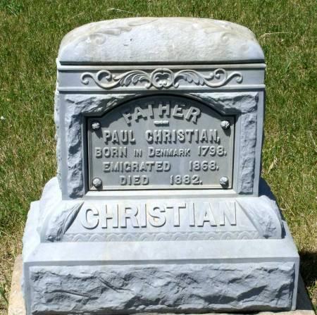 CHRISTIAN, PAUL - Hamilton County, Iowa   PAUL CHRISTIAN