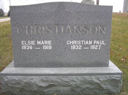 CHRISTIANSON, ELSIE MARIE - Hamilton County, Iowa | ELSIE MARIE CHRISTIANSON
