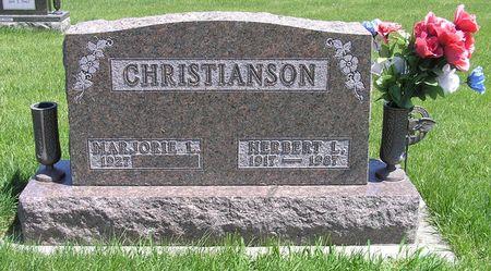 CHRISTIANSON, HERBERT L. - Hamilton County, Iowa   HERBERT L. CHRISTIANSON