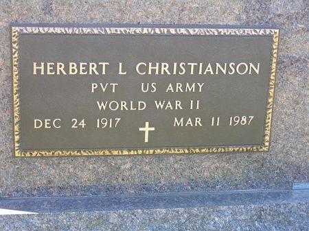 CHRISTIANSON, HERBERT L. - Hamilton County, Iowa | HERBERT L. CHRISTIANSON