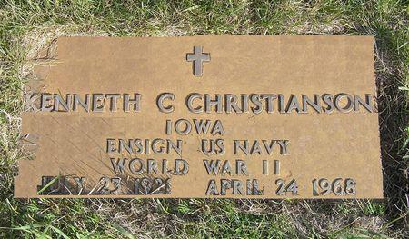CHRISTIANSON, KENNETH C. - Hamilton County, Iowa | KENNETH C. CHRISTIANSON
