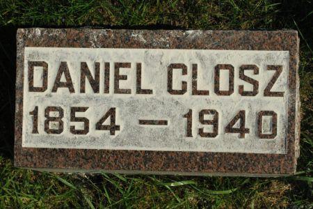 CLOSZ, DANIEL - Hamilton County, Iowa   DANIEL CLOSZ