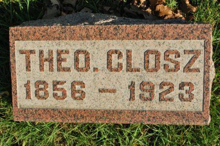 CLOSZ, THEO. - Hamilton County, Iowa | THEO. CLOSZ