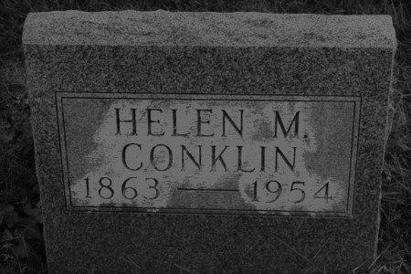 MARR CONKLIN, HELEN M. - Hamilton County, Iowa   HELEN M. MARR CONKLIN