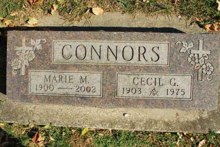 CONNORS, CECIL G. - Hamilton County, Iowa   CECIL G. CONNORS