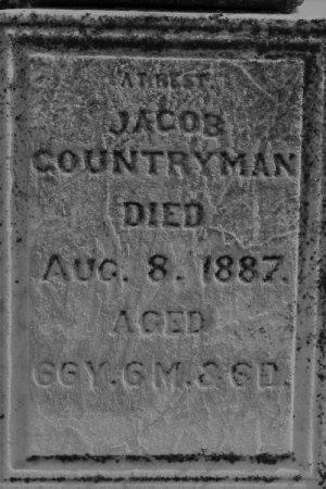 COUNTRYMAN, JACOB - Hamilton County, Iowa | JACOB COUNTRYMAN
