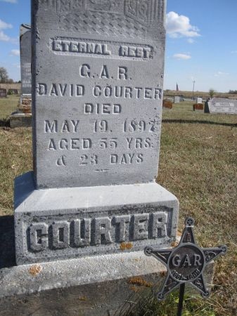 COURTER, DAVID - Hamilton County, Iowa | DAVID COURTER